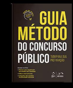 Livro: Guia Método do Concurso Público - Tudo Para Sua Preparação